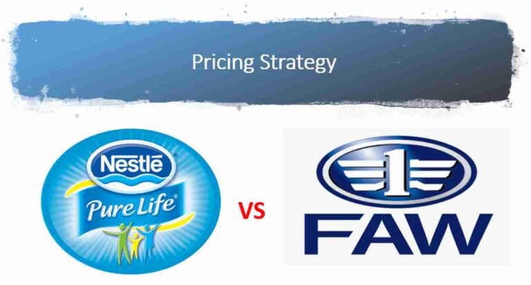 Pricing Strategy of Nestle Pakistan and Faw Motors