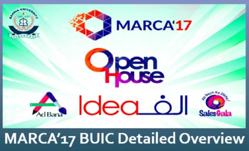Example of Social Media Marketing Campaign – BUIC MARCA'17