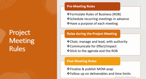What are Project Meetings, Meeting types & Rules - Communication 7Cs