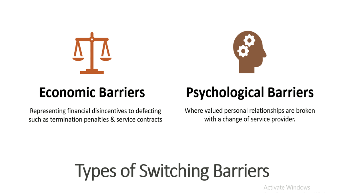 Define Switching Barriers & Create Value-based Customer Relationships