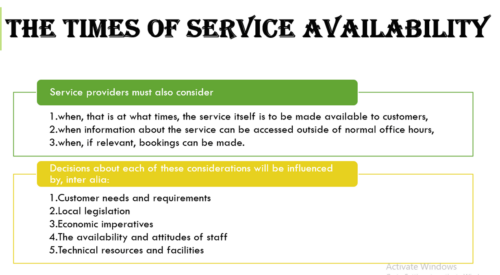 Service Delivery Place, Servicescape & Physical Evidence - Examples
